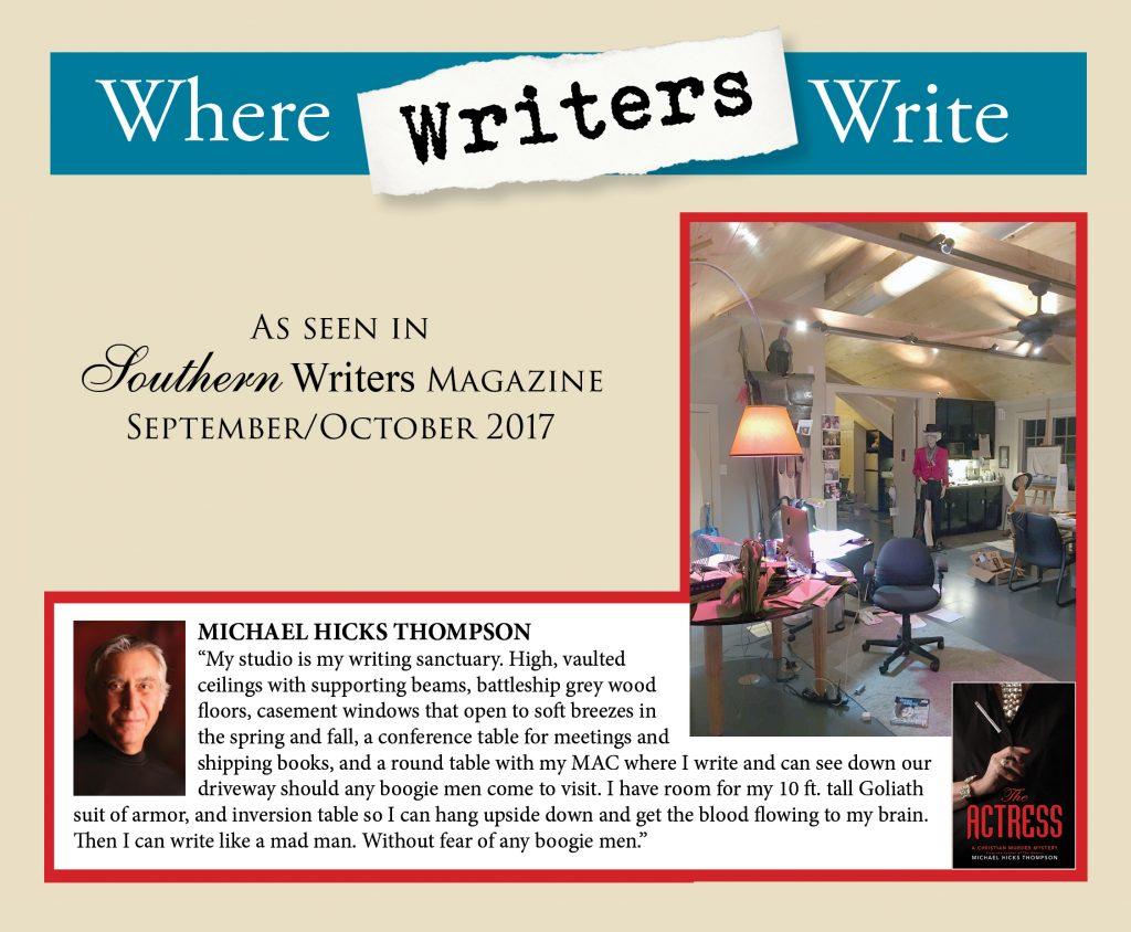 Where Writers Write - Michael Hicks Thompson