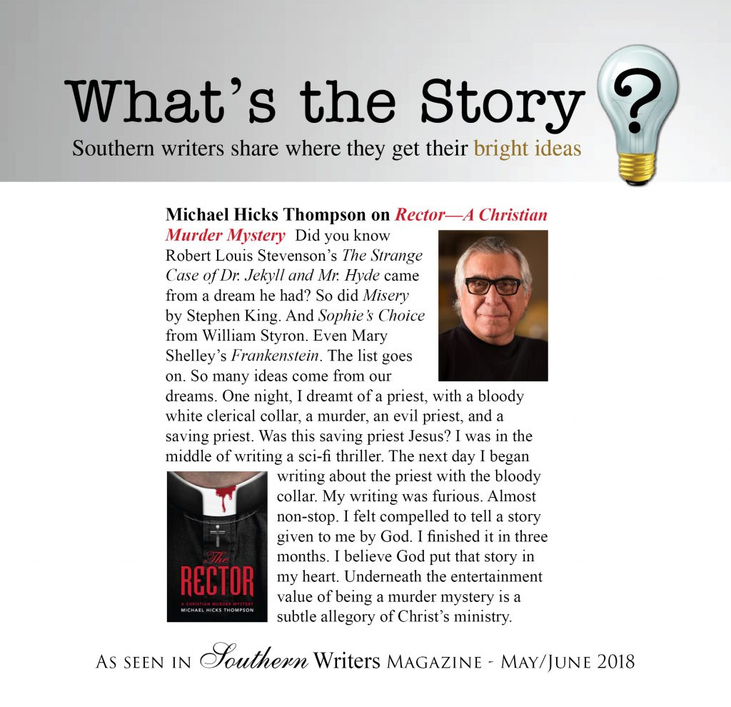 Michael Thompson in Southern Writers Magazine