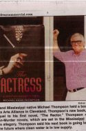 Bolivar Commercial Highlights Michael Thompson and his Novel The Actress