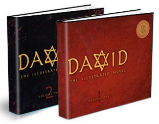 David The Illustrated Novel Vol 1 & 2